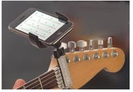 Guitar Sidekick iPhone holder